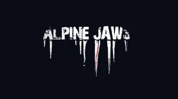 "AlpineJaws Logo ""white"""