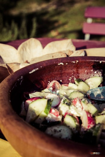 Salat nach Jahreszeit