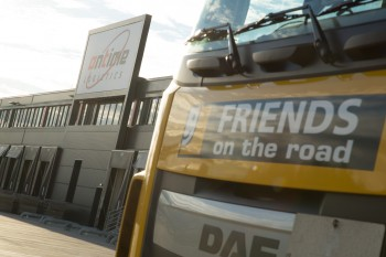 Neues Logistikzentrum der Firma Ontime in Sattledt