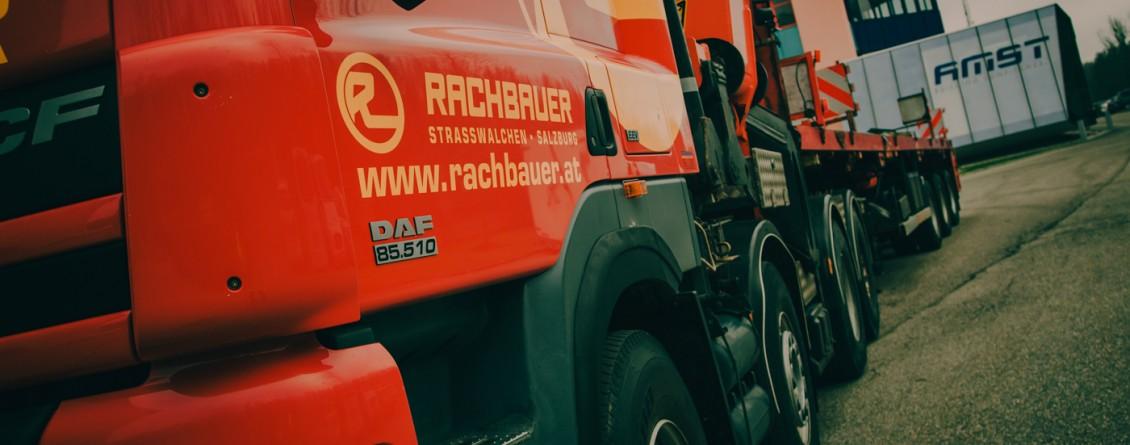 Sondertransport der Firma Rachbauer. Bild: AUTrenalin MEDIA