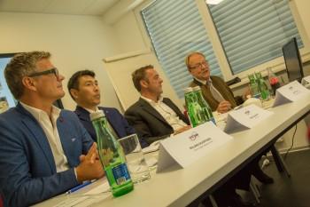 Pressekonferenz Ontime Sattledt am 27.08.2015