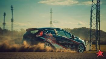Ford Racing Rookie Superfinale bei der Speedparty im Magna Racino 2015. Bild: Screenshot Video AUTrenalin MEDIA