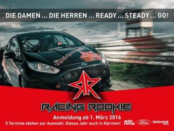 www.racingrookie.at Copyright - Foto: Jürgen Skarwan, Ford, Autorevue