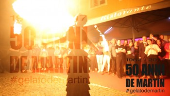 De Martin im Schloss wird 50 Jahre! Hier sind die Highlights der Geburtstagsfeier des Traditionsitalieners in Laufen. #gelatodemartin . Produziert von AUTrenalin MEDIA.